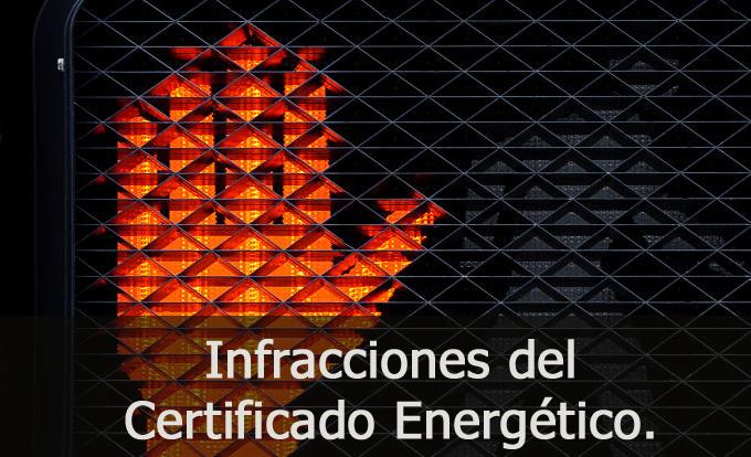 infracciones certificados energeticos