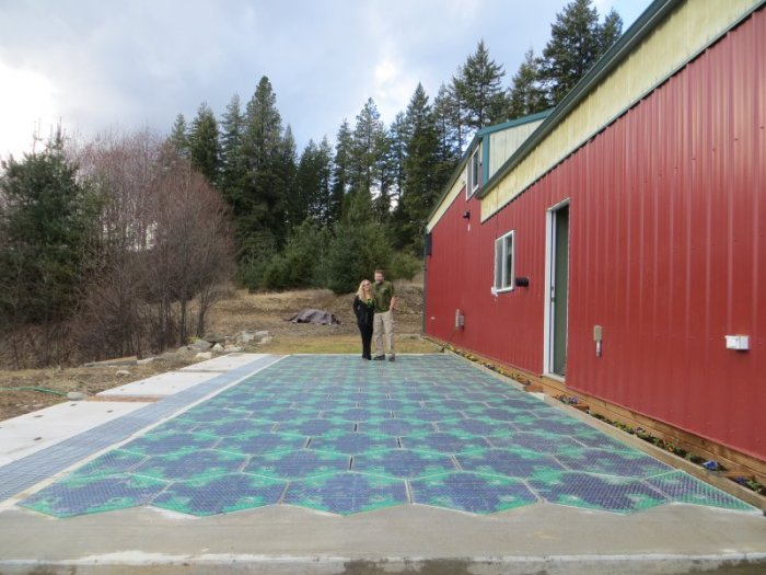 paneles solares resistentes